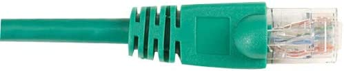 Black Box Network Services CAT6 Molded Boot Patch CA Green 10FT 25