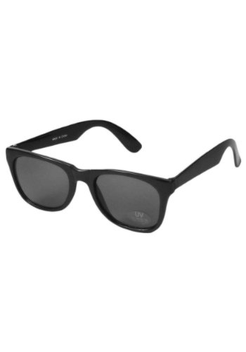 Forum Novelties Unisex Blues Sunglasses, Black, One - Sunglasses Costume