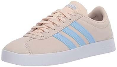 adidas Womens Vl Court 2.0 Beige Size: 5.5