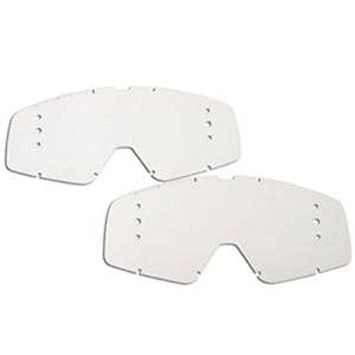 - Fox Racing Youth Main Goggles Roll-Off Replacement Lens (2 Pack) (Clear)