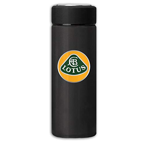 - BOSIJCAI New Thermos Flask Lotus Automobile Logo Frosted Travel Tumbler for Hot/Cold Drink Coffee Or Tea Black