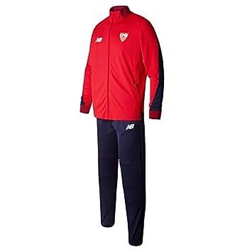 New Balance SFC 1 A Trikot Trainingsanzug, Kinder L Rot (HRD