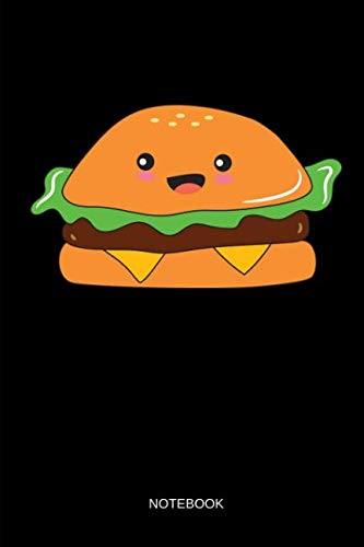 Notebook: THE BURGER - Kawaii Fries and Burger Matching Notebook / Journal. Funny Friendship Stuff & Novelty Matching Family, Best Friends, Sisters, Mom and Daughter & Couple Gift Idea. -