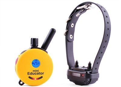 E-Collar Mini Educator 1/2 Mile Remote Dog Trainer + FREE INCLUDED Bungee E-Collar
