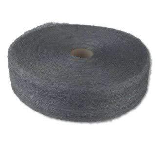 - GMT 105044 Industrial-Quality Steel Wool Reel, 1 Medium, 5-lb Reel (Case of 6), Coating, Cut, Cutting Angle, Flute,
