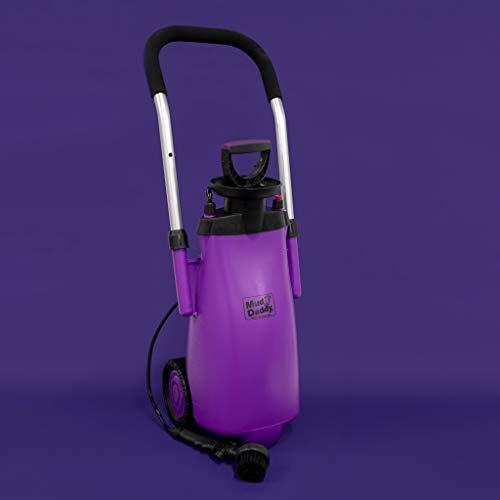 Daddy Wheel - Mud Daddy Heavy Duty Washing Device on Wheels for Horses, Gardening, Camper (Purple)