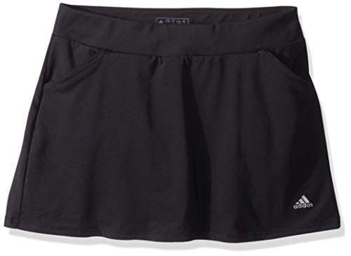 adidas Golf Printed Golf Skort, Black, Medium