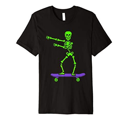 Funny Skeleton Dance Halloween Costume Premium T-Shirt ()