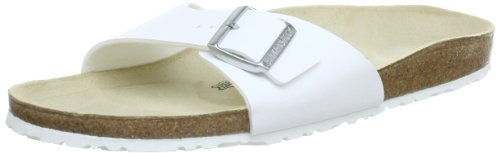 Birkenstock Original Madrid Birko Flor Normal (pour pied large), , White, 040731 40,0