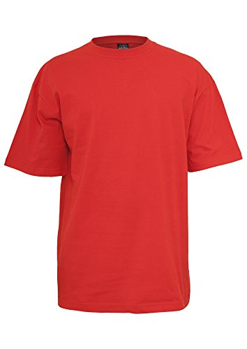 TB006 'Urban Classics' T-Shirt Tall Tee M-6XL (Various Colours), Größe:XXL;Farbe:red