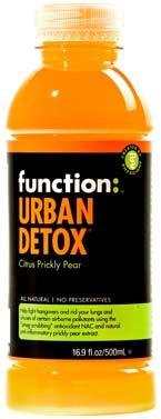Function Drink, Urban Detox: Citrus Prickly Pear, 16.9 Oz. / 12PK