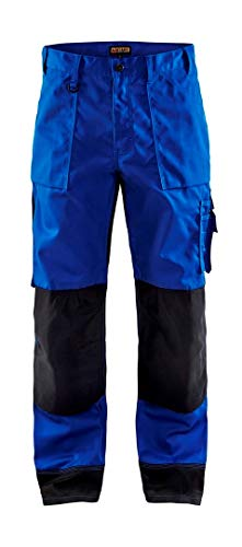 152318608599C152 Trousers Size 36/34 (Metric Size C152) IN Cornflower Blue/Black by Blaklader (Image #1)