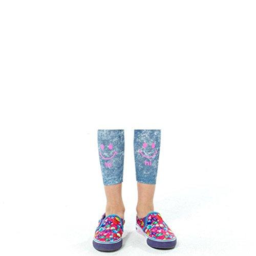 Gem Kunstdruck Slip Schuhe auf Sneakers