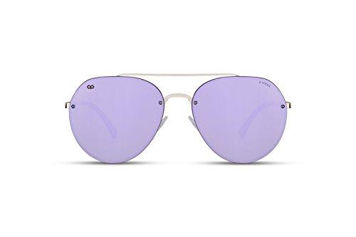 taille KYPERS Homme Lunettes Violet de soleil unique 004 YZqxYr