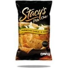 Stacys Parmesan Garlic and Herb Pita Chips, 7.33 Ounce -- 12 per case. (Parmesan Garlic Stacys)