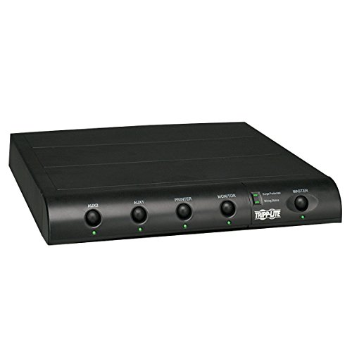 Used, Tripp Lite 6 Outlet Under-Monitor Surge Protector Power for sale  Delivered anywhere in USA