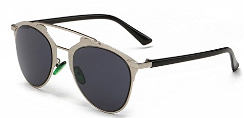 GAMT Vintage Metal Frame Colored Lens Aviator Sunglasses - Sunglasses Lense Coloured