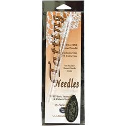 Bulk Buy: Handy Hands (2-Pack) Tatting Needle For Thread #8 Extra Fine N11 by Handy Hands