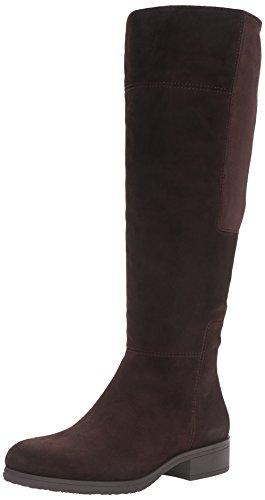 Bandolino Women's Terusa Chelsea Boot, Dark Brown Suede, 7 M (Ladies Brown Suede Boots)