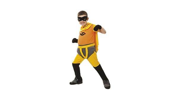 Fanboy Chum Chum - Disfraz Fanboy, tallas 3-5/5-7, color naranja (Simba 5551180): Amazon.es: Juguetes y juegos