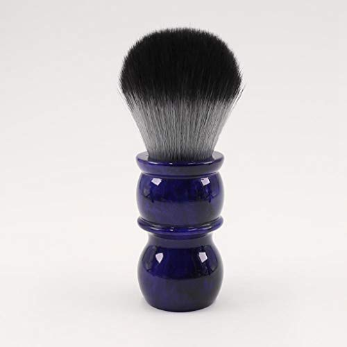 Shaving Brush 26mm Timber Wolf Color Synthetic Hair Shaving Brush Colorful Men'S Barber Facial Beard Cleaning Appliance