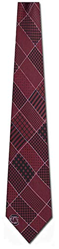 (South Carolina Patchwork Silk Necktie)