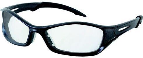 Crews Tribal Safety Glasses (Crews TB110AF MCR Tribal Safety Glasses Graphite Frame Clear Lens Anti-Fog, 1 Pair by MCR Safety)