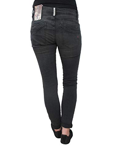 Buena Stretch Donna Grigio Chiaro Jeans Pantaloni Vista Twill Malibu wrgnxtqwT6