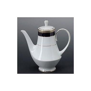 Noritake Crestwood Cobalt Platinum Coffee Server