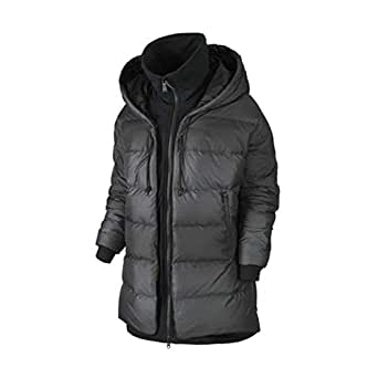 Nike Womens' Uptown 550 Cocoon Jacket Black at Amazon