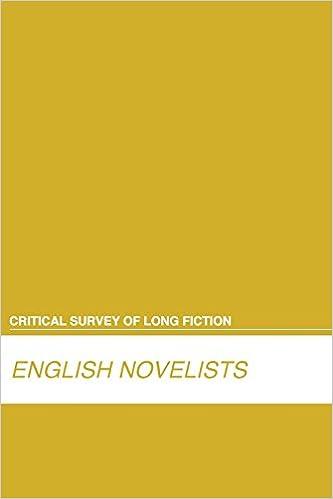English Novelists (Critical Survey (Salem Press)) (Critical Survey of Long Fiction)