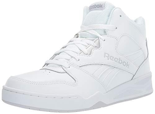 Reebok Men's Bb4500 Hi 2 Sneaker, White/Light Solid