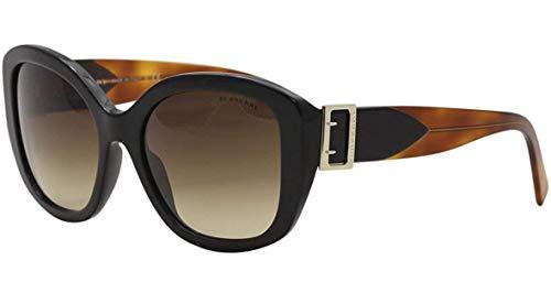 Burberry Women's BE4248 Sunglasses Green Havana/Blue Havana/Blue Gradient 57mm