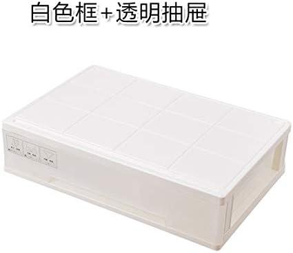 Caja de almacenamiento de ropa interior tres en uno casa cajón tipo sujetador caja de almacenamiento caja de almacenamiento ropa interior calcetines caja de almacenamiento caja blanca + cajón gris: Amazon.es: Hogar