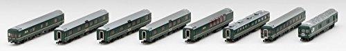 Nゲージ98955[限定]24系客車(特別なトワイライトエクスプレス・8両フル編成)セット(8両)