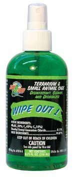 - Zoo Med Wipe Out 1, 4.25oz.