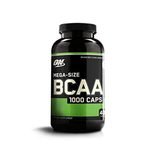 OPTIMUM NUTRITION Instantized BCAA Capsules, Keto Friendly Branched Chain Essential Amino Acids, 1000mg, 400 Count ()