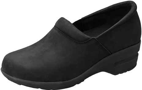 Cherokee Womens Patricia Step-In Shoe Black Oil Leather sBERxh1H