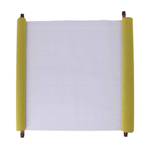 2Pcs 1.5m Water Writing Cloth,Reusable Chinese Magic Cloth Water Paper Calligraphy Fabric (White) -