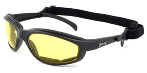 Choppers Powersports Motorcycle Ski and Snow Goggles (nite yellow), Outdoor Stuffs