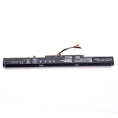 AMANDA A41N1501 A41LK9H L41LK2H battery for ASUS ROG G752VW GL752VL GL752VW N752VW N552V N552VX N752V Series 15V 48Wh by AMANDA