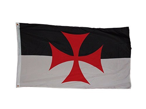Templar Knights Battle Flag Flag 3 X 5 3x5 Feet by quarks