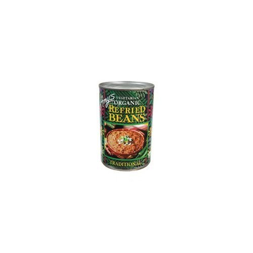 Amy's Organic Refried Beans, 15.4-Ounce Cans ( Value Bulk Multi-pack)(PACK OF 96) by Amys