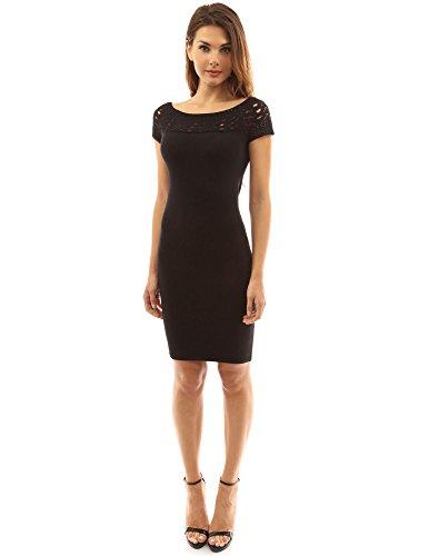 Inset Sheath Dress - 5