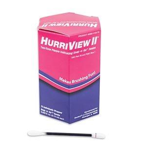 Beutlich Hurriview Ii® Two-Tone Plaque Indicating Snap -N- Go Swabs 0283-1105-72