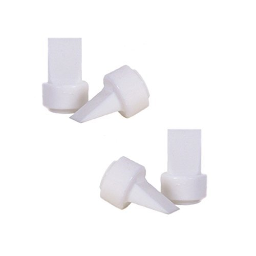 Maymom Pump Valves for Philips AVENT ISIS Breast Pumps; Duckbills to Replace Philips AVENT Valves Used in Manual, Single Electric Breastpump and Twin Electric Breast Pumps Valves (aka Avent Duckbills or Philips Valves or Avent ISIS Valves); 4 Pieces in Ret