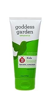Goddess Garden Kids Natural Sunscreen Spf 30 - 6 Oz - Liquid