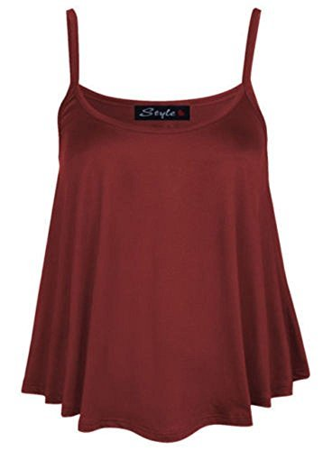 Riddled with Style - Camiseta sin mangas - para mujer Wine