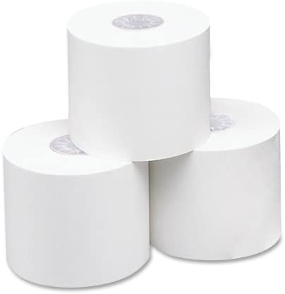 3 per Pack 165 Inches Length 05247 2.25 inches Wide White PM Company Specialty Thermal Printer Rolls