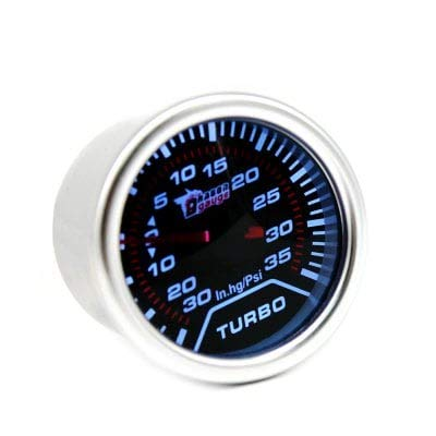 ExcLent B3067 52mm Auto Car Turbo Boost Gauge Meter - PLATINUM: